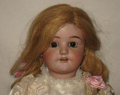"""Antique 22"""" Heinrich Handwerck / Simon & Halbig Bisque Head Doll #550    MZ24"""