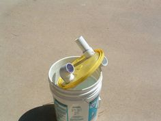 Gallon Bucket DIY Fine Dust Collection Trap
