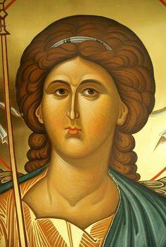 Byzantine Icons, Byzantine Art, Religious Icons, Religious Art, Crafty Angels, Roman Church, Archangel Michael, Orthodox Icons, St Michael