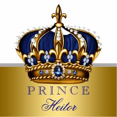 corona de principe Blue and Gold Prince Baby Shower Cutout King Crown Tattoo, Crown Tattoo Design, King Tattoos, Baby Shower Backdrop, Baby Shower Decorations, Osiris Tattoo, Coroa Tattoo, Princess Logo, King And Queen Crowns