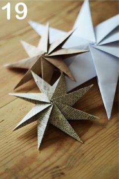24 Christmas Paper Ornaments » Random Tuesdays