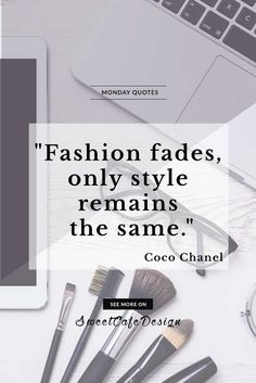 Monday quotes: Coco Chanel