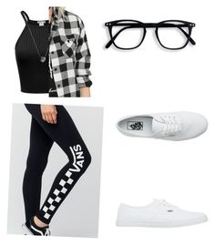 """Untitled #11"" by mascaraholic on Polyvore featuring Vans, Links of London and plus size clothing"