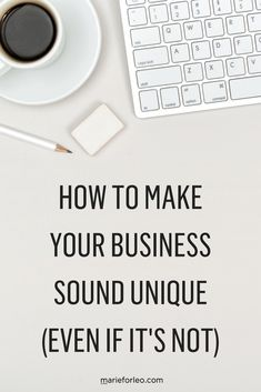 Want your business to stand out from the crowd? Here are some tips on how to differentiate your business from your competition and help your business sound more unique. Make Business, Business Advice, Business Entrepreneur, Creative Business, Online Business, Strategy Business, Business Education, Business Motivation, Business Branding