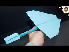 How to make a Paper Airplane: BEST Paper Planes in the World – Paper Airplanes t… Wie man ein Papierflugzeug herstellt: BESTE Papierflugzeuge der Welt – Papierflugzeuge, die FERN FLIEGEN Paper Airplane Folding, Make A Paper Airplane, Airplane Crafts, Origami Toys, Instruções Origami, Kids Origami, Recycled Paper Crafts, Paper Crafts Origami, Paper Crafts For Kids