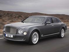 Bentley Mulsanne Mulliner Driving Specification.
