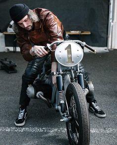 "(@elegant_apparatus) on Instagram: ""@st.brooklyn.motorcycles captured by 📷 @judicael at 🇫🇷 Circuit de Carole... 😎👍"""