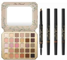 Too Faced Summer 2017 Makeup Collection   Natural Love Palette – Limited Edition – $59.00 & Chocolate Brow-nie – Limited Edition – $21.00