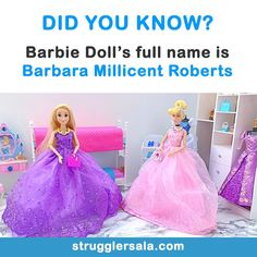 Barbie Doll - All the Interesting Information You're Wondering Here Wow Facts, Real Facts, Wtf Fun Facts, True Facts, Funny Facts, Some Amazing Facts, Interesting Facts About World, Unbelievable Facts, Interesting Information