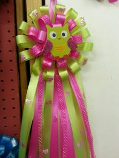 Mommy to be corsage #baby #shower #owls
