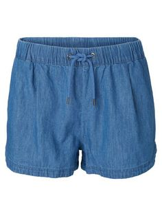 WEITE PASSFORM SHORTS, Medium Blue Denim