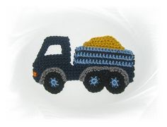 TRUCKS trucks crochet crochet patch crochet by SavoeDesign on Etsy
