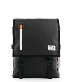 Streeter College Commuter Laptop Backpack - Weatherproof Black