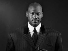 Michael Jordan's style has always seemed effortless, whether he was on the court, or in a well-tailored, Italian suit. Many basketball players look a bit funny in suits, because it's hard to look suave when you are nearly 7′ tall. But Jordan manages to pulls it off.