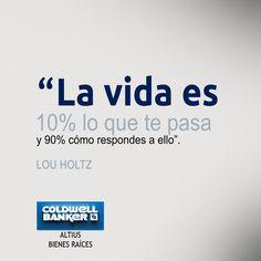 Actitud. LOU HOLTZ