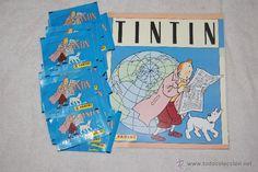 ALBUM DE TINTIN Y 33 SOBRES NUEVOS Y SIN ABRIR 1989