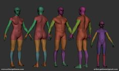 You will get :  - .ZTL File ( Zbrush 4R7 P3 ) with the Male Basemesh unwraped ( 4 division levels and polygroups)  -.ZTL File ( Zbrush 4R7 P3 ) with the Female Basemesh unwraped ( 4 division levels and polygroups)  -.ZTL File ( Zbrush 4R7 P3 ) with the Kid Basemesh unwraped ( 4 division levels and polygroups)  - lvl 0 & lvl 1 .objs for each basemesh + eyes   Contact : arthur.gatineau@gmail.com for any issues with the files