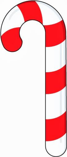 free preschool christmas crafts this free candy cane template to rh pinterest com candy cane border clip art free candy cane border clip art free
