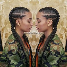 Cute Protective Style for the Spring/Summer. Protective Hairstyles For Natural Hair, Natural Hair Tips, Natural Hair Styles, Afro Punk, Dope Hairstyles, Braided Hairstyles, Dreads, Twists, Twisted Hair