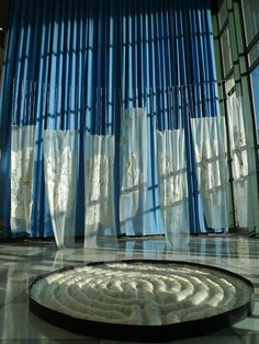 Claudy Jongstra - Art in Textiles (installation at the United Nations