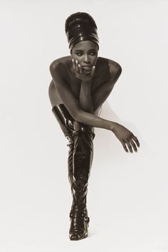 10 of legendary photographer Herb Ritts's most iconic photos: Naomi Campbell