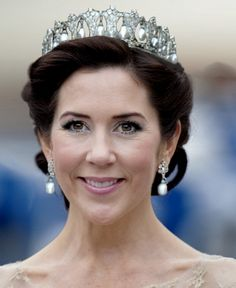 Crown Princess Mary of Denmark.  Which tiara is this?