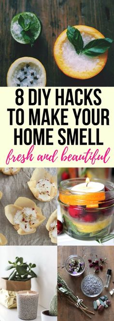 Add these few hacks and watch how your home will smell good all day! Home hacks