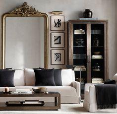 Louis Philippe Gilt Mirror