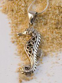 seahorse pendant/ tattoo idea                                                                                                                                                     More