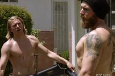 Jax and Opie shirtless, yes please