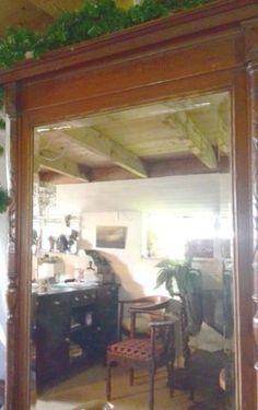 Fraaie 19e eeuwse halspiegel