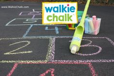 Do you like the sounds of Walkie Chalk? Stop by our website and purchase one today!