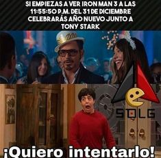 Read Feliz Año Nuevo 🎉❤️ from the story Las Chimichangas: Ships Marvel by TacoDeTripitas (🇩🇦🇳🇳🇾₆₉) with reads. Marvel Comics, Marvel 3, Marvel Funny, Marvel Universe, Avengers Memes, Marvel Memes, Funny Spanish Memes, Funny Memes, Mundo Marvel