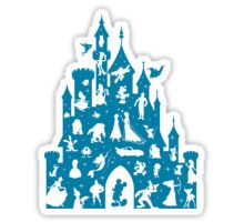 Most Magical Castle Sticker