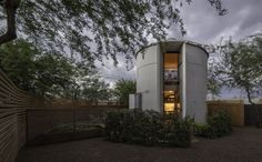 Amazing Grain Silo Home featured on Zillow. Also contains a great 10 minute video with a tour!
