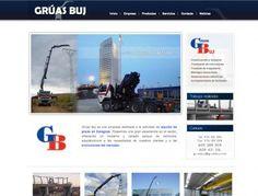 Grúas Zaragoza. Grúas Buj http://www.gruasbuj.com/ #web #Zaragoza #Aragon