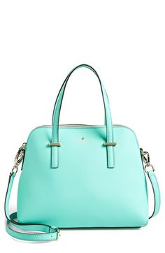 Free shipping and returns on kate spade new york 'cedar street - maise' satchel at Nordstrom.com. Lavish crosshatched leather composes a tidy satchel shaped with an elegantly arcing silhouette. An optional strap adjusts to the perfect length for crossbody convenience.