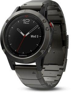76d7977bcc2 Garmin Fenix 5 Sapphire GPS Watch Slate Gray Metal Regular Luxury Watches
