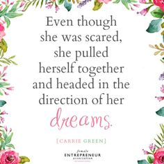 Lots of wonderful inspiration to be had at the Female Entrepreneur Association! #inspiration #quotes