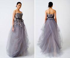 Vera Wang Spring 2011 #purple #wedding #dress