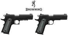 Browning 1911-380 Semi Auto Pistol Line Expands