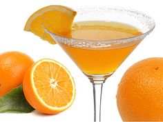 Orange blossom cocktail is made with gin, orange liqueur and orange juice. Gin dominates the taste while orange juice adds nice complementing citrus flavor.