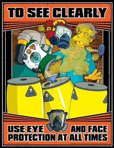The Simpsons Are Here To Teach You About Work Safety, 25 photos in Others category, Others photos Health And Safety Poster, Safety Posters, Lab Safety, Safety First, Safety Work, The Simpsons, Work Related Injuries, Safety Pictures, Industrial Safety