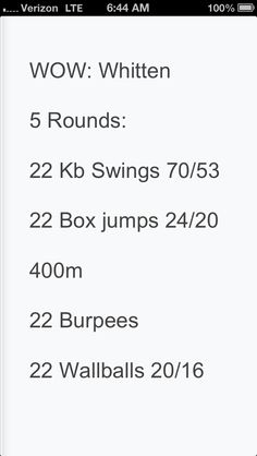 5RFT: 22 KB swings, 22 box jump burpees, 400m run, 22 burpees, 22'wallball