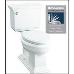 lowes Item # 335317 Model # 98992-0KOHLER Devonshire White WaterSense Labeled Elongated Chair Height 2-piece Toilet 12-in Rough-In Size122 Ratings4.0 Average86%Recommend this productCommunity Q&AView Now+6 More In-use/lifestyle image - accessories not included$278.00