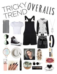 """""""Tricky Trend : Overalls"""" by bhaynes1021 ❤ liked on Polyvore featuring WearAll, RE/DONE, Converse, Revo, MICHAEL Michael Kors, Calypso Private Label, Bling Jewelry, Lucky Brand, Smashbox and HUGO"""