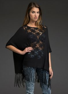 Crochet Lace Fringe Top | UP TO 40% OFF ENTIRE PURCHASE