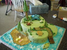 Hunting Cake Decorations Uk : Cakes - Camping, Hunting & Outdoors on Pinterest Camping ...