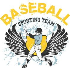 Sporting Team Baseball Graphic is completely and instantly customizable in CorelDraw or Illustrator! Baseball Vector, Baseball Stuff, Coreldraw, Vector Design, Shirt Style, Illustrator, Shirt Designs, Underwear, Sports