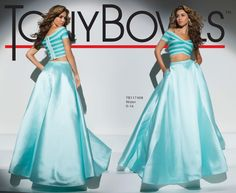 Tony Bowls Style TB117408 - View the Tony Bowls Collection now and contact a retailer near you to order the perfect designer dress for your social occasion!